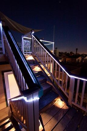 Stairs to the 3rd story - Nightly  Spectacular View of Mission Bay Fireworks - Pacific Beach - rentals