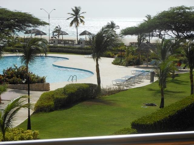 Amazing ocean view from your two large balcony terraces! - Divine Leisure Two-bedroom condo - BC255 - Eagle Beach - rentals