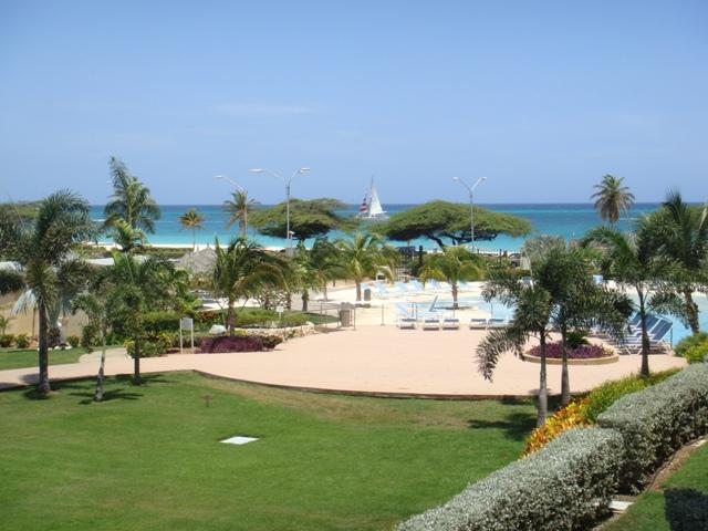 Great ocean view from both of your balconies! - Superior Two-bedroom condo - E225-2 - Eagle Beach - rentals