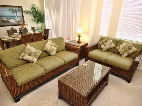Living Area - CI4C5253CIL-302 4 BR Executive-style Condo Near Disney - Kissimmee - rentals