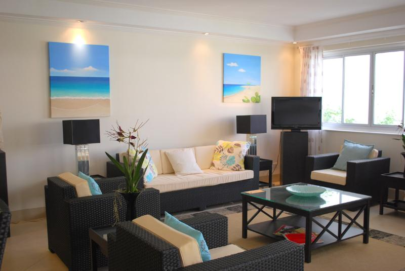 Apt 206, The Condominiums at Palm Beach, Christ Church, Barbados - Beachfront - Image 1 - Hastings - rentals