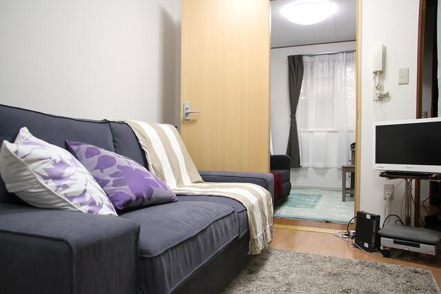 Living Room with TV, DVD player, Books, etc - Winter Sale! 3Bedroom House Roppongi 10min Shibuya - Tokyo - rentals