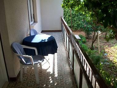 A1(2+2): terrace - 4349 A1(2+2) - Trogir - Trogir - rentals