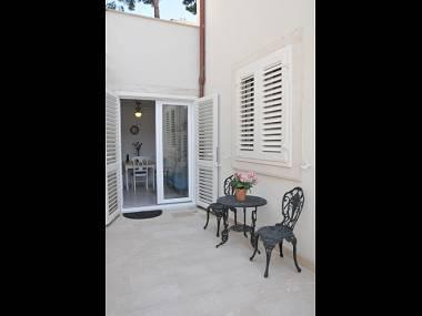 A1-Plavi(2+1): terrace - 4364 A1-Plavi(2+1) - Stomorska - Stomorska - rentals