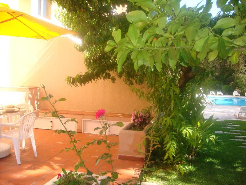 Terrace with direct access to the garden - Cascais - Great Duplex in condo with swimming pool - Cascais - rentals