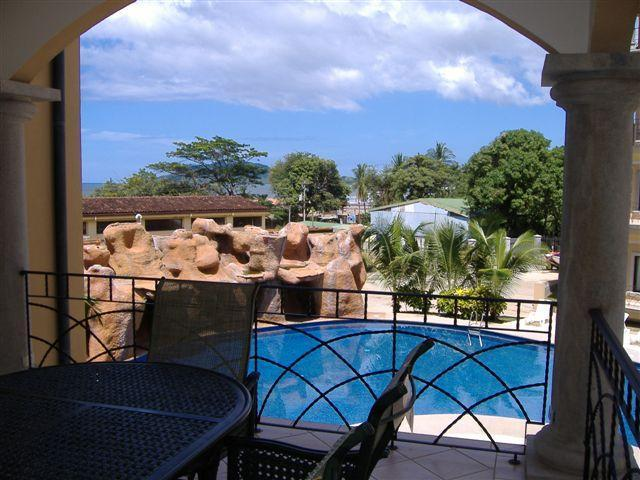 View From Balcony - Downtown@Beach, WiFi, Sleeps 7, Pool - Tamarindo - rentals