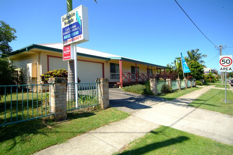 Street Frontage of Dolphin Sands - Dolphin Sands Holiday Villas - Coffs Harbour - rentals