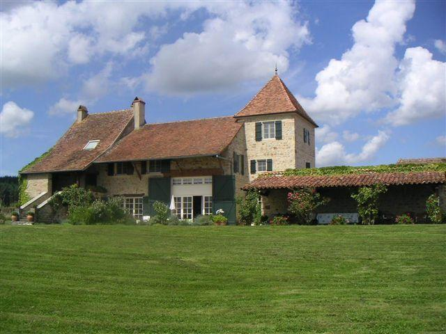 Chateau in Burgundy with Pool, Garden, and Tennis Court - Villa St. Andre - Image 1 - Macon - rentals