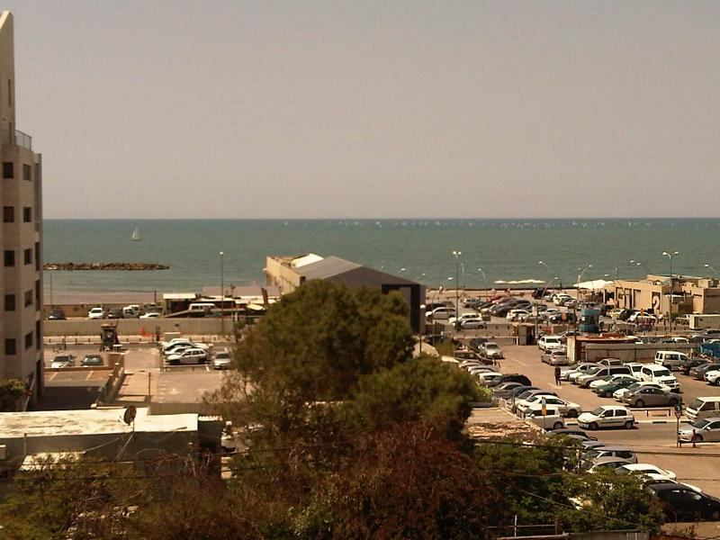 view from the roof of the building - amazing apartment near the beach - Tel Aviv - rentals