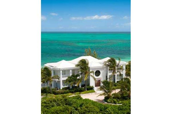 Beachfront villa with magnificent views, especially from the dining area. TNC OCE - Image 1 - Grace Bay - rentals