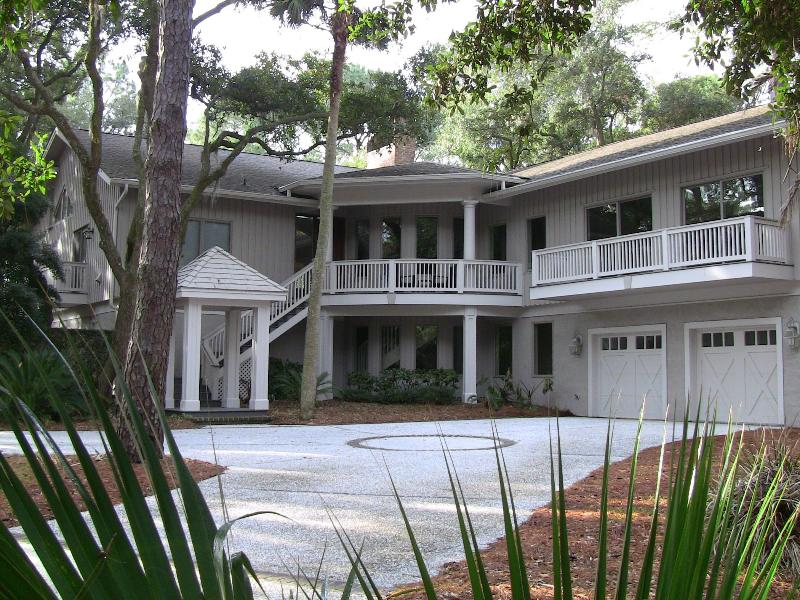 Front view of home - Best Large Group Sea Pines Home, 2nd Row Ocean! - Hilton Head - rentals