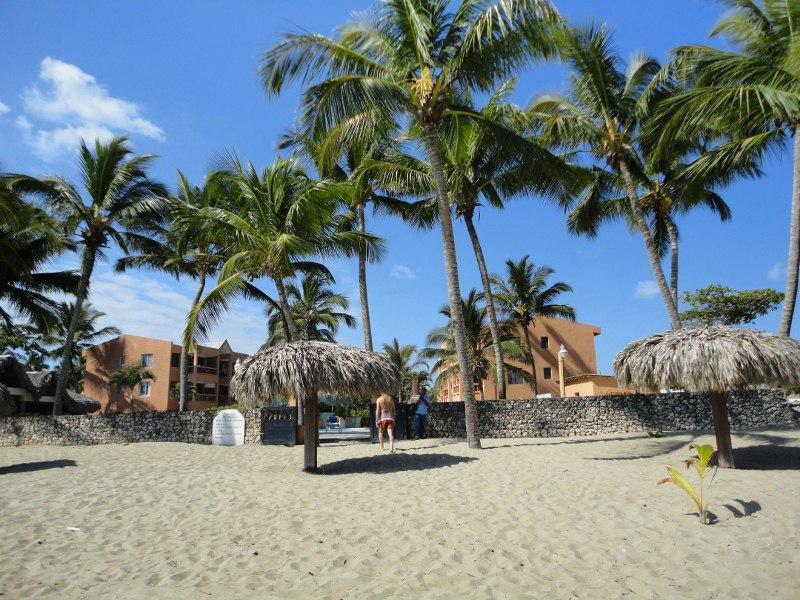 Relax with the sound of the waves as the breeze cools your sun baked back - Caribbean Ocean Front Condo!  Tropical paradise - Cabarete - rentals