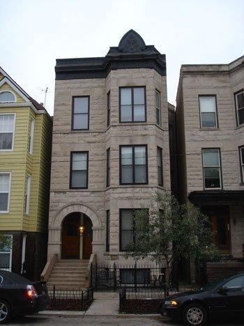 Front of Building - Victorian Greystone in the heart of Wrigleyville! - Chicago - rentals