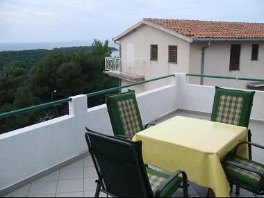 A4(4): terrace - 00906PRIM A4(4) - Primosten - Primosten - rentals