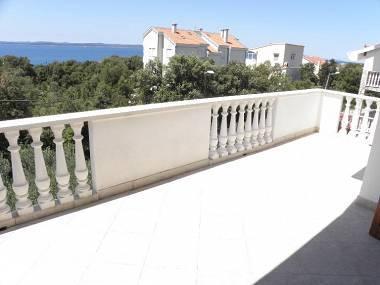 A1 Dora(7): terrace - 4468 A1 Dora(7) - Petrcane - Petrcane - rentals