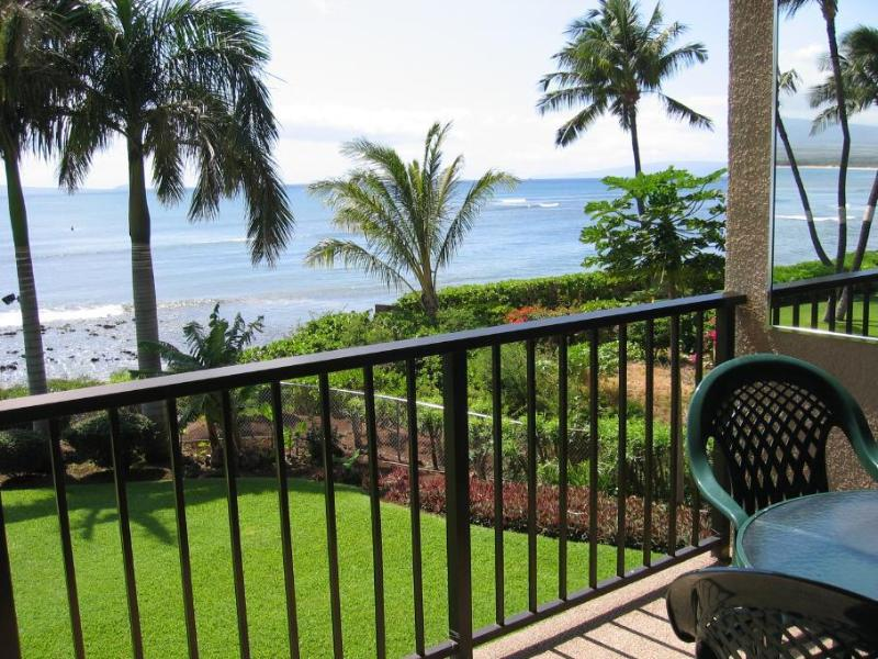 "View off Lanai of ""Freight Train"" Famous Surfing Spot on Maui - Maui Island HIdeaway - Maalaea - rentals"