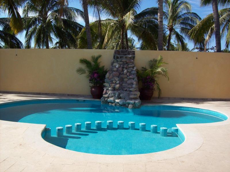 Swimming Pool, Villas Veronica, 2 Bedroom - Private, Spacious Villa, 2 blocks from Ocean - Bucerias - rentals