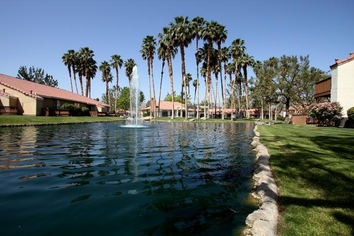 Beautiful South facing View from the Patio. - View Lakefront Location WiFi PetsOK - Palm Desert - rentals
