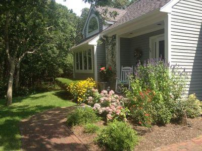 #7156 two story centrally air conditioned Townhouse - Image 1 - Edgartown - rentals