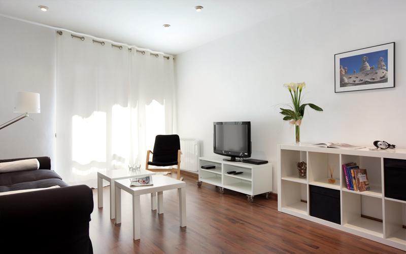 Living room - LESSEPS - Barcelona - rentals