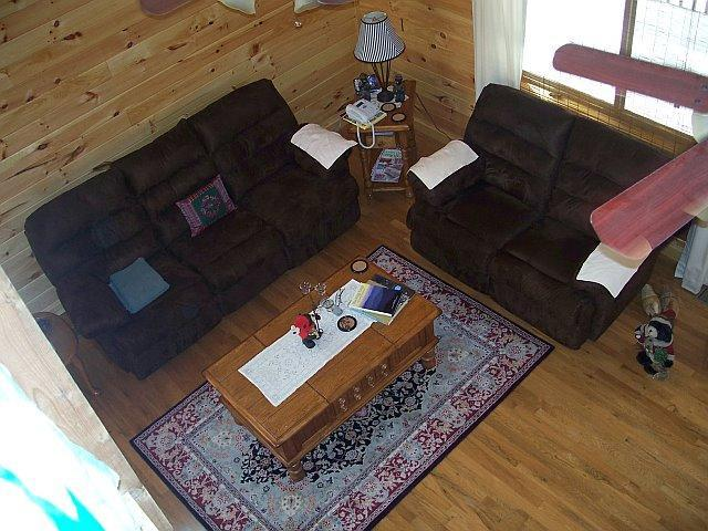 Loft view - Becks Cabin....Ride the tail of the dragon! - Robbinsville - rentals