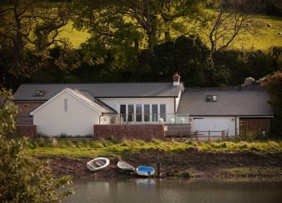 front elevation - Weighbridge Beach House - Porlock Weir - rentals