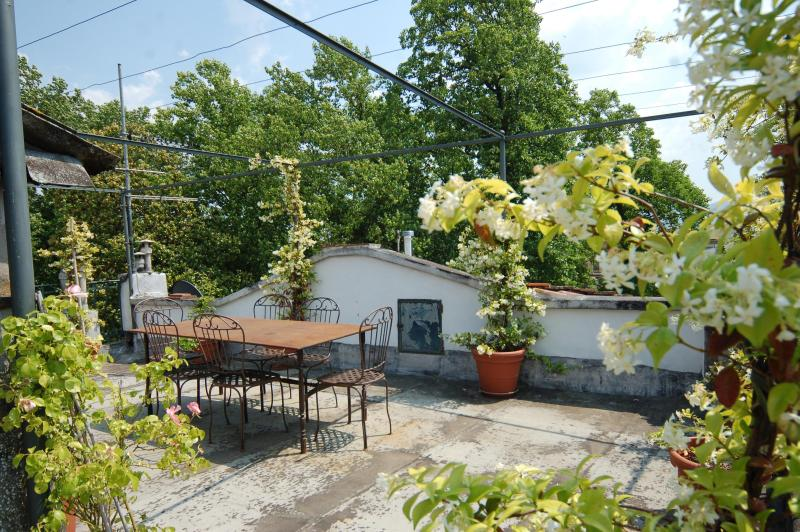 CasaValeria, the terrace - Elegant Flat with Terrace within Lucca's Walls. - Lucca - rentals