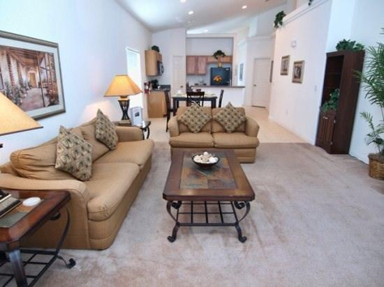 Family Room - MA4P218GA 4 Bedroom Lovely Pool Home With A Panoramic View - Davenport - rentals