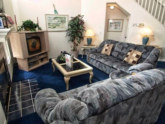 Living Area - WC3P847WW 3 BR Villa with Intercom System Throughout - Four Corners - rentals