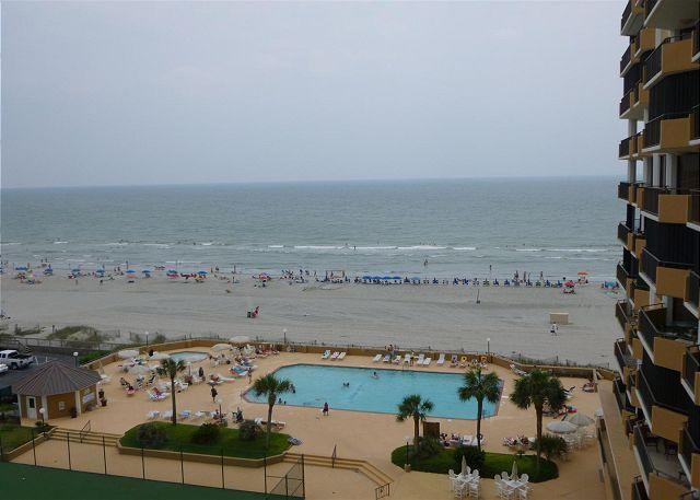 Fantastic property great ocean front view @ Maisons-Sur-Mer Myrtle Beach SC - Image 1 - Myrtle Beach - rentals