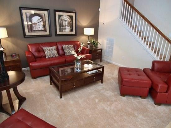 Living Area - TF6P4953PMSE 6BR Pool Home with Enticing View - Kissimmee - rentals
