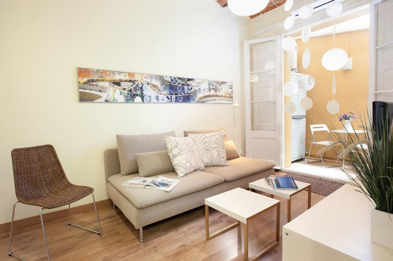 Living room - Con Gracia apartment - Barcelona - rentals