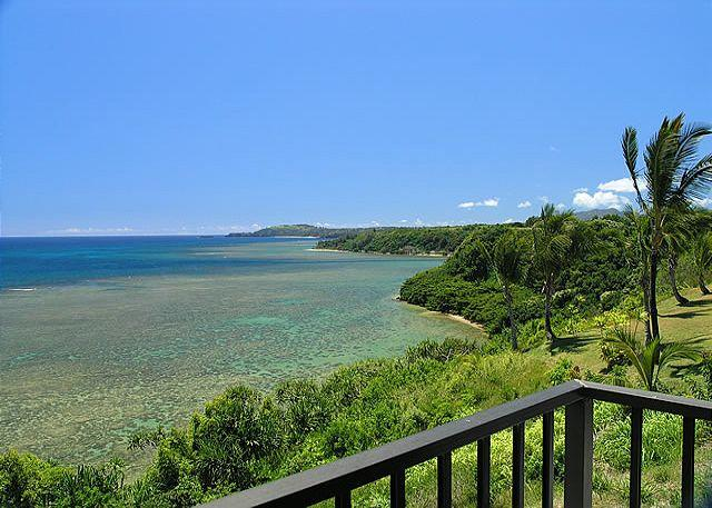 Sealodge G7: Oceanfront views from top floor 2br/2ba, VIEW +++ - Image 1 - Princeville - rentals