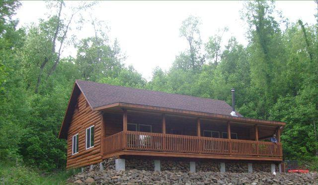 Front view - 3 bedroom artisan's cabin in Blue Ridge mountains - Bedford - rentals