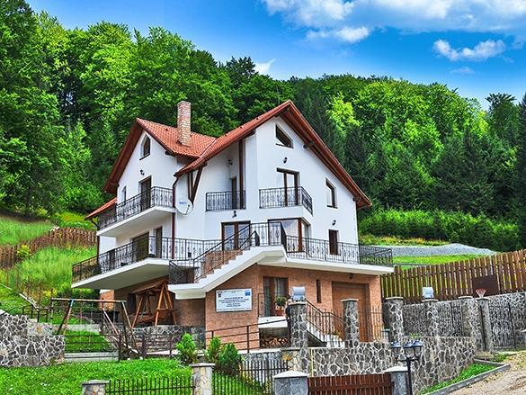 The villa in summer - Charming Villa in a Private Mountain Resort - Brasov - rentals