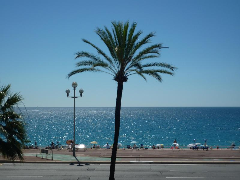 The wonderful blue sea and sky of South France from your apartment! - Nice Promenade des Anglais beachfront free Wifi/TV - Nice - rentals