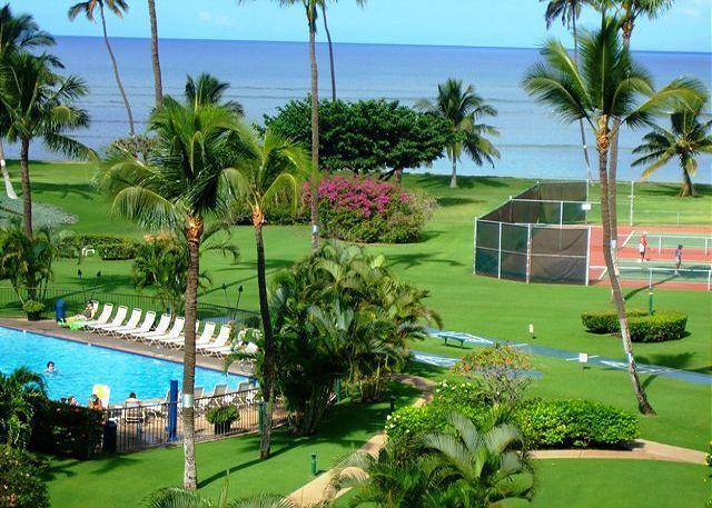 Maui Sunset Oceanfront Ocean Views - Maui Sunset A122 Oceanfront Ocean View 3 Bedroom 3 Full Bathrooms Sleeps 6 - Kihei - rentals