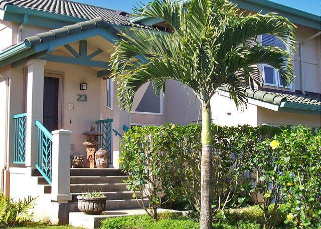 Villas on the Prince 23: upscale, a/c, walk to shopping and Anini Beach - Image 1 - Princeville - rentals