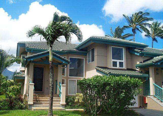 Spacious, upscale, a/c, mountain and waterfall views, close to Anini - Image 1 - Princeville - rentals
