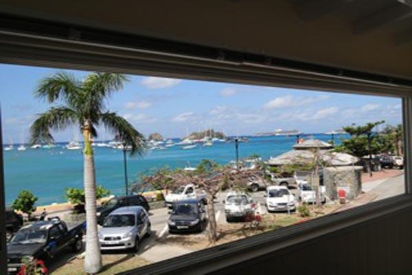 Located at the entrance of Gustavia overlooking the harbor WV OSS - Image 1 - Gustavia - rentals