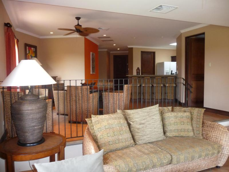 Open Floorplan with Lots of Seating - Playa Conchal Condo - Oceanview on Golf Course - Playa Conchal - rentals