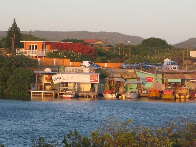 Wattstraat Villa from Nautical Club - Beach House on Spaans Lagoon with private pool - Pos Chiquito - rentals