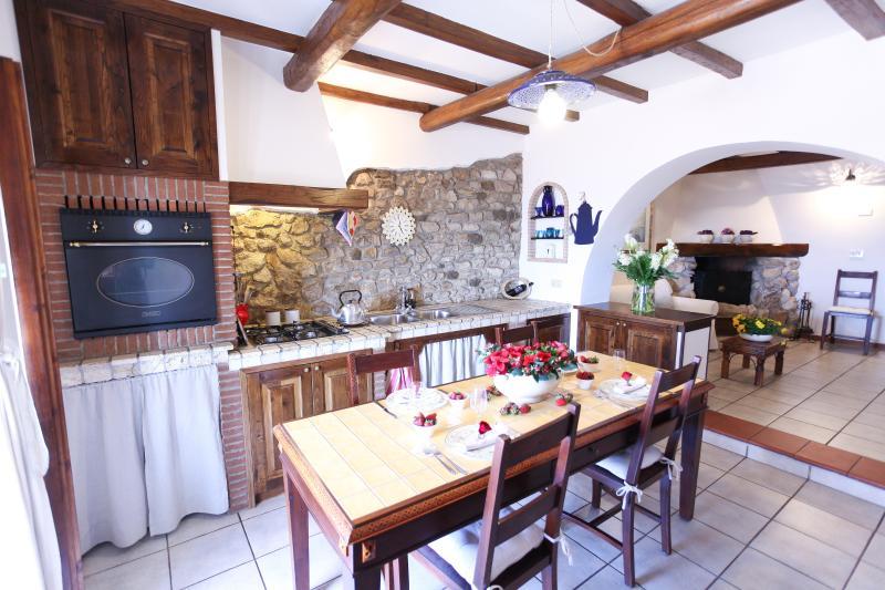 Kitchen and dining area - Altavista - Palestrina - rentals