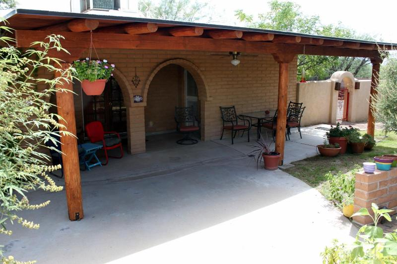 Front Porch at the Bed and Burro - The Bed and Burro Inn - Tucson - rentals