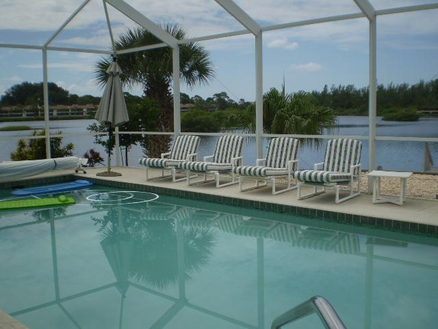 Another view of the pool - Bayfront Beauty - Nokomis - rentals