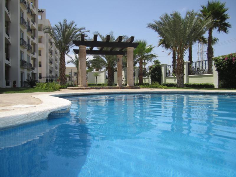 Pool area - Near Medano Beach - Puerta Cabos Village Condo - Cabo San Lucas - rentals