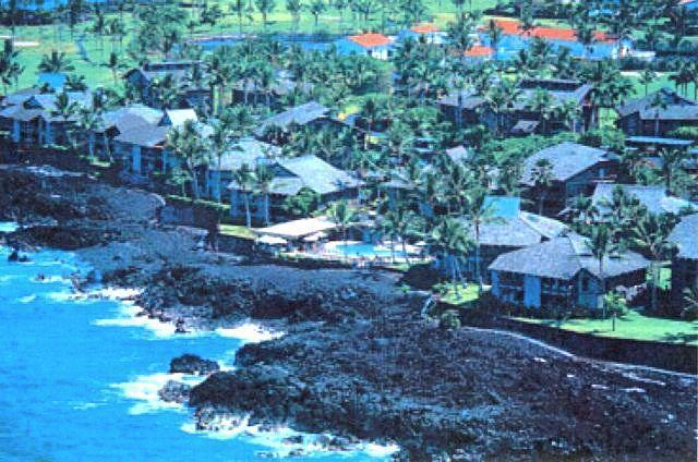 Kanaloa resort from above - Beautiful Hawaii Condo by the Ocean - Kailua-Kona - rentals