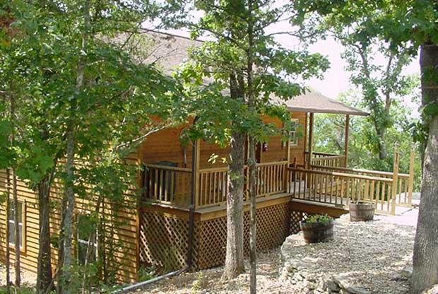 Cabin 104 The Paddler Exterior - Can U Canoe Cabin 104 - The Paddler - Eureka Springs - rentals