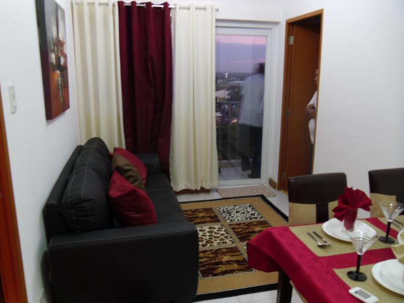 Lounge Room - Cosy, Peaceful, Furnished 2 BR  Condo Near Airport - Paranaque - rentals