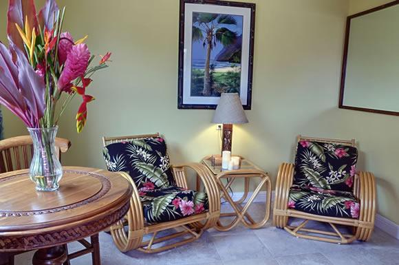 a cozy space for your home base - Ellie's Poipu Garden Suite - Sweet Space for 2 - Poipu - rentals